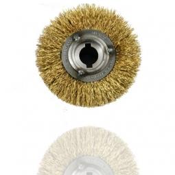 Cepillo redondo de alambre de acero