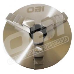 Broquero chuck  para torno 3 mm 125mm universal
