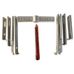 Extractor polea 8 garras multiples 175 mm