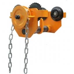 Trol engranado de 1000 kg  64-203 mm cadena 3 m