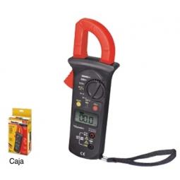 Amperímetro digital con gancho