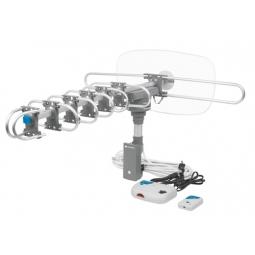 Antenas aéreas HDTV amplificada giratoria 360 a control remoto