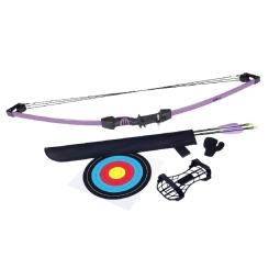"Upland purple arco juv poleas 2 flechas 26"""