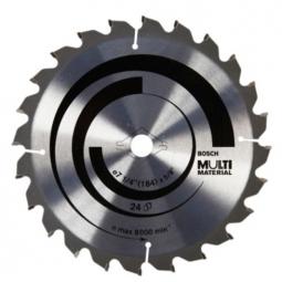 Sierra circular para corte multimatrial 7-1/4
