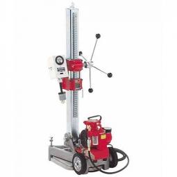Base para perforador con inclinacion y motor