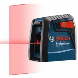 Nivel laser de 2 lineas 10m con pilas 2AA