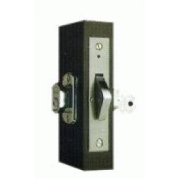 Cerradura p/puerta corrediza de aluminio natural