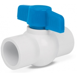 Válvulas de esferas de PVC, para cementar