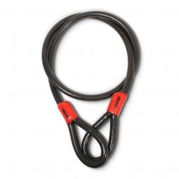 Cable de seguridad doble lazo de 1.5m