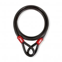Cable de seguridad doble lazo de 3m