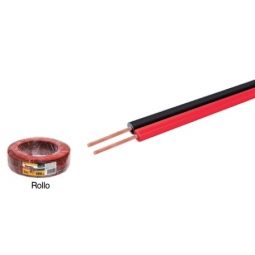 Cable dúplex para bocina bicolor