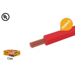 Cable THW CCA calibre 12 AWG color Rojo
