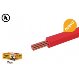 Cable THW CCA calibre 10 AWG color Rojo