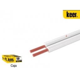 Cable dúplex SPT-POT alucobre calibre 18AWG