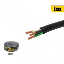 Cable uso rudo calibre 16 AWG 3 conductores