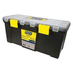 Caja portaherramientas plástica de 22