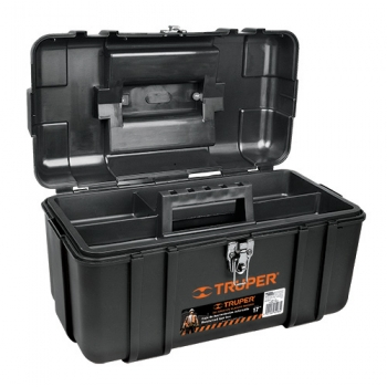 Caja para herramienta calidad industrial, broches metálicos 17