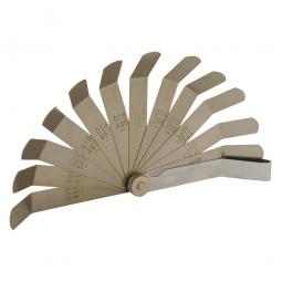 Calibrador de 12 hojas con doblez a 45°