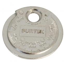 Calibrador tipo rampa para bujía