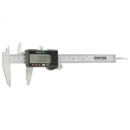 Calibrador pie de rey digital pantalla plástica