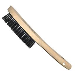 Cepillo manual con forma en V inoxidable