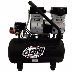 Compresor de carga rápida de 1HP y 18 litros libre de aceite
