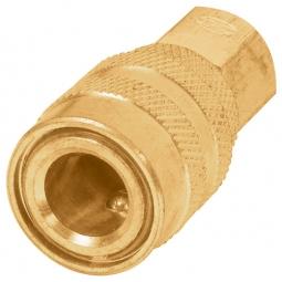 Conector rápido tipo F de latón