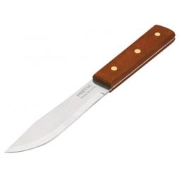 Cuchillo cebollero, mango madera, 5