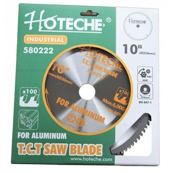 Disco de sierra TCT de corte de aluminio