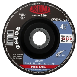 Disco para desbaste de metal 4-1/2