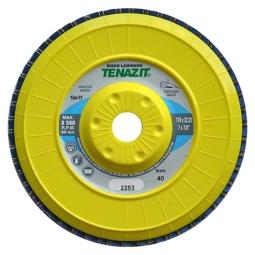 Disco laminado zirconio + ceramico de 4-1/2