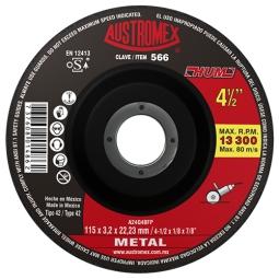 Disco para corte de metal 4-1/2
