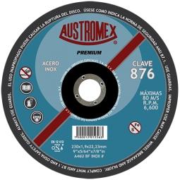 Disco para corte de acero inoxidable 9