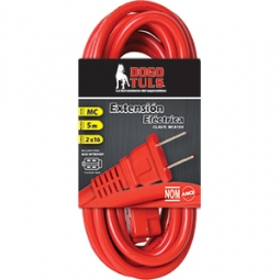 Extension electrica 2,5m - 2 x 16 awg