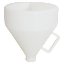 Vaso plastico para tirolera neumatica