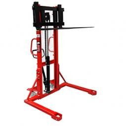 Apilador manual pasillo ancho 500 kg