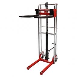 Apilador manual pasillo angosto 400 kg