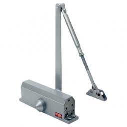 Cierrapuertas color aluminio de 45 a 60 kg