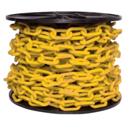 Cadena plástica con grosor de 6mm amarilla