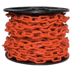 Cadena plástica con grosor de 6mm naranja