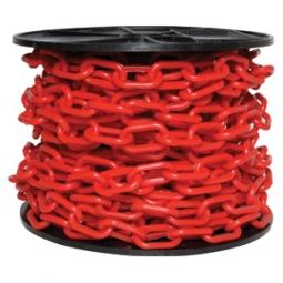 Cadena plástica con grosor de 6mm roja