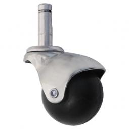 Rodaja esférica espiga con arillo 40mm
