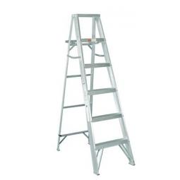Escaleras tipo tijera de aluminio