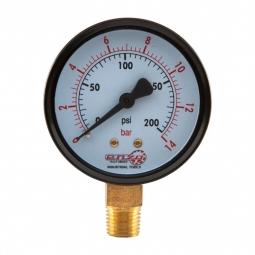 Manómetro 0-200 PSI 1/4 NPT