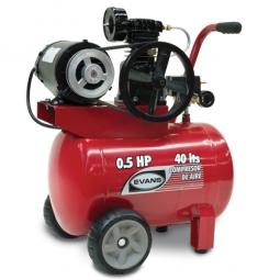 Compresor de aire lubricado 1/2 Hp 40L