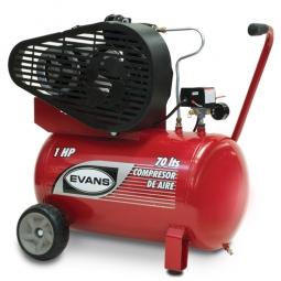 Compresor de aire lubricado 1 Hp 70L