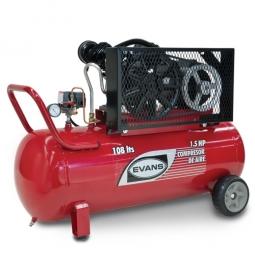 Compresor de aire lubricado 1.5 Hp 108L