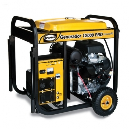 Generador de 12,000 W motor de 22 HP