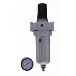 Filtro separador de agua y aceite con regulador de aire