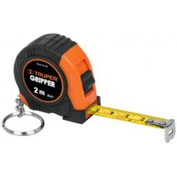 Flexómetro tipo llavero, 2 m